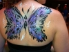 Large butterfly body painting