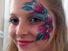 Parrish Face Painting Flowers