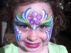 Flower girl face painting Tampa State Fair